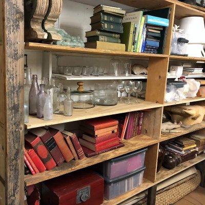 shelf organizing recent project